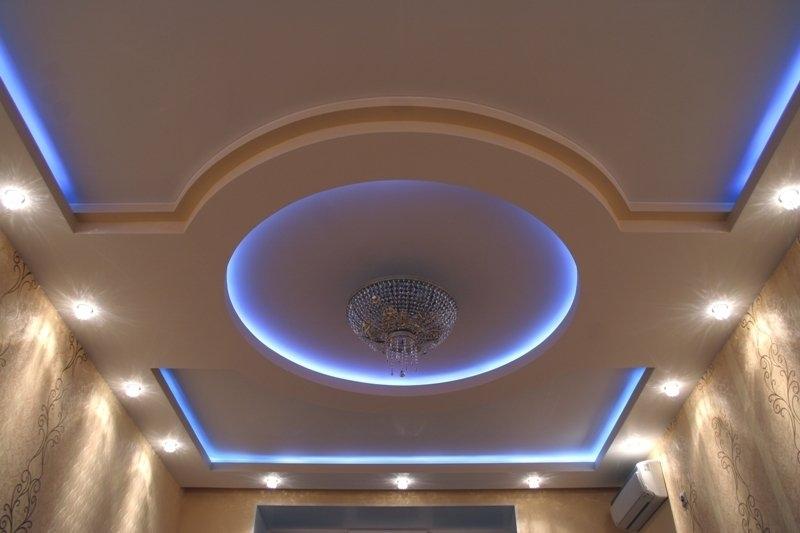 Многоярусный потолок 179